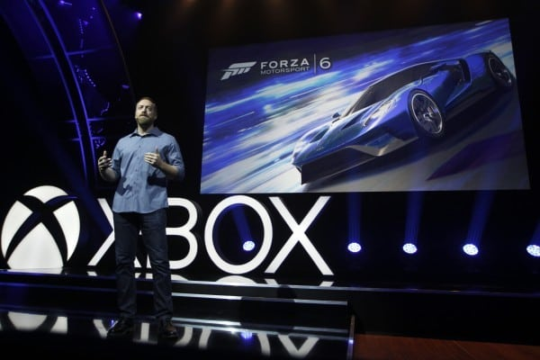 Dan Greenawalt, Creative Director, Turn 10 Studios, at the Xbox gamescom 2015 Briefing on Tuesday, 4 August 2015 in Cologne, Germany. (Photo by Ina Fassbender for Microsoft)