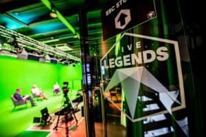 Live legends greenscreen studio
