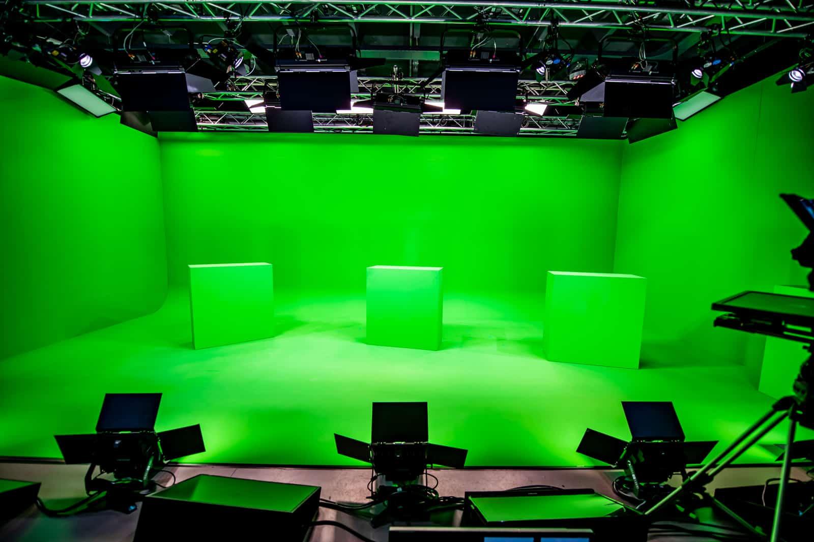 Greenscreen studio Amsterdam Live Legensds