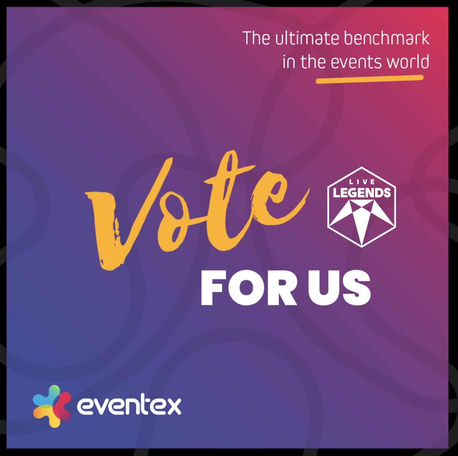 Vote for us Eventex